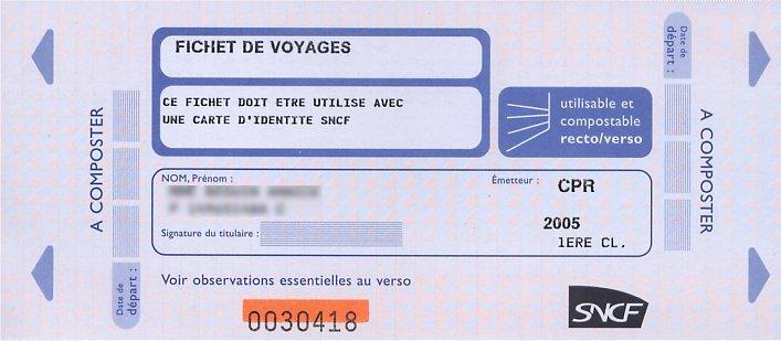 carte ayant droit sncf Béguin Jean Jacques